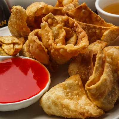A10. Fried pork Wontons