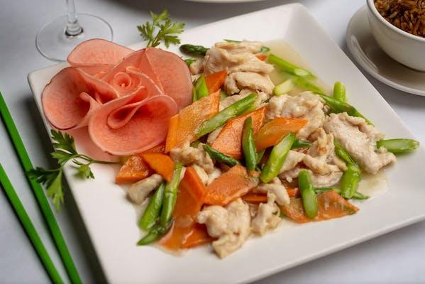 C13. Asparagus Chicken