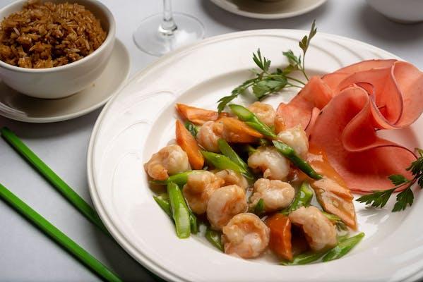 SA11. Asparagus Shrimp