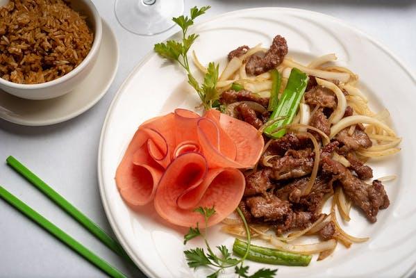 B12. Hibachi Beef