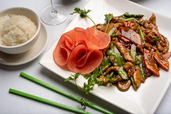 P3. Asparagus Pork