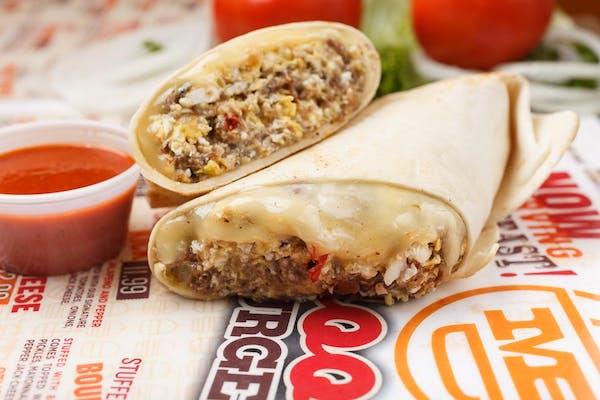 Steak, Egg & Cheese Burrito