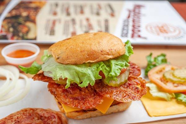 Bacon Attack Burger