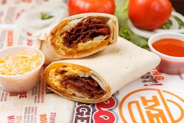 Bacon Egg & Cheese Burrito