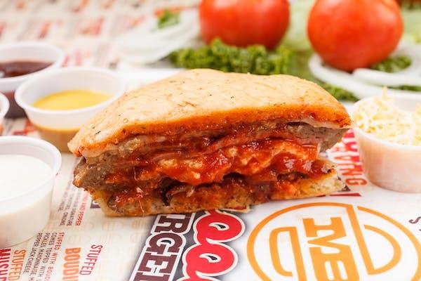 Stuffed Italian Burger