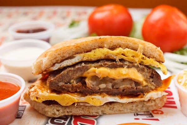 Hangover Breakfast Burger