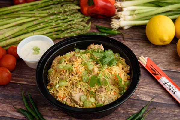 Chicken Biryani Bowl