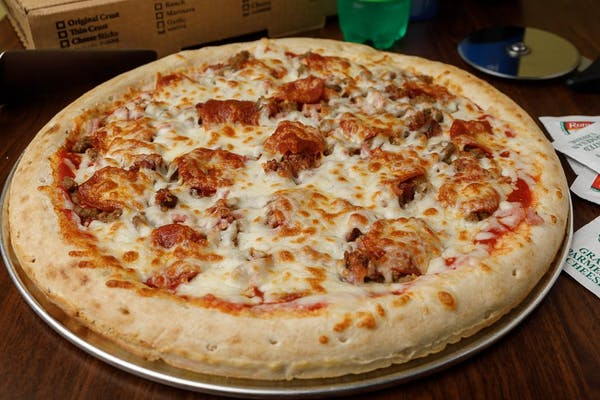 All-Meat Pizza