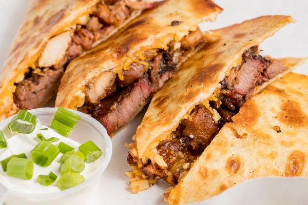 Triple Smokehouse Quesadilla