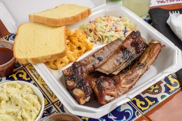 Rib & Pork Combo Plate