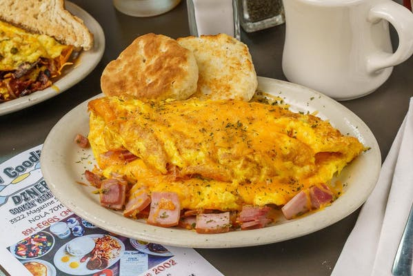 Ham & Cheezer Omelet