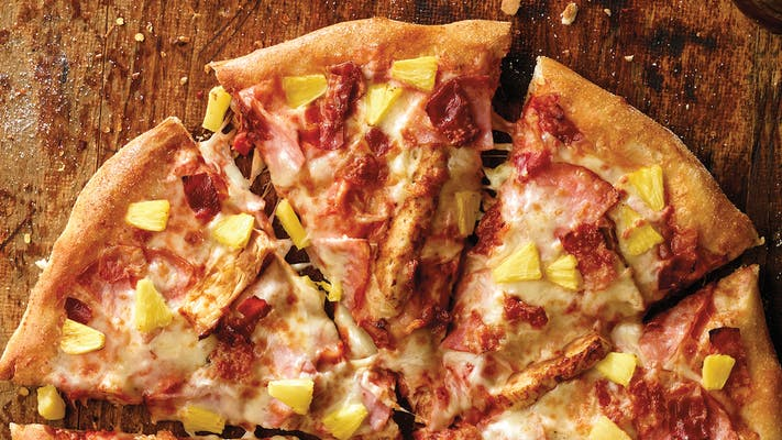 Hawaiian Chicken Pizza