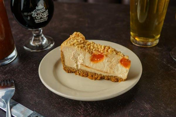 Peach Cobbler Cheesecake