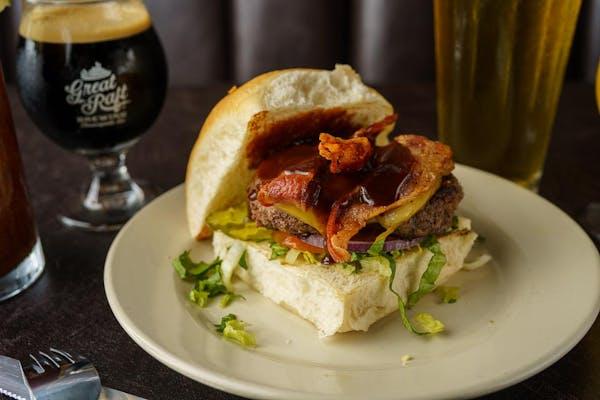 BBQ Bacon Smoked Gouda Burger
