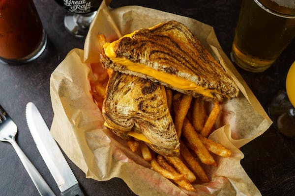 Grilled Cheese Basket