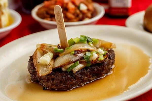 Angus Chopped Steak