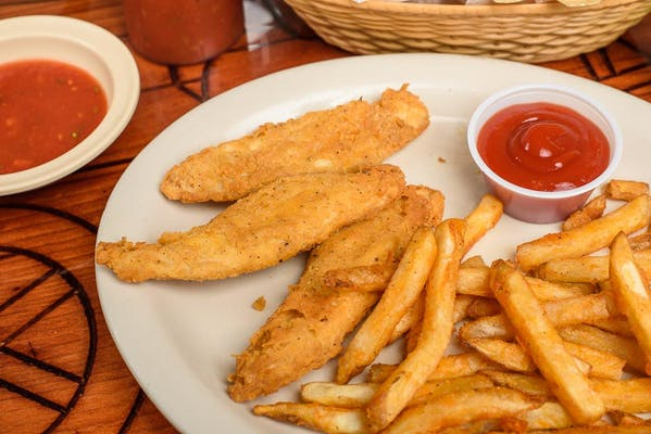 7. Kid's Chicken Fingers & Fries