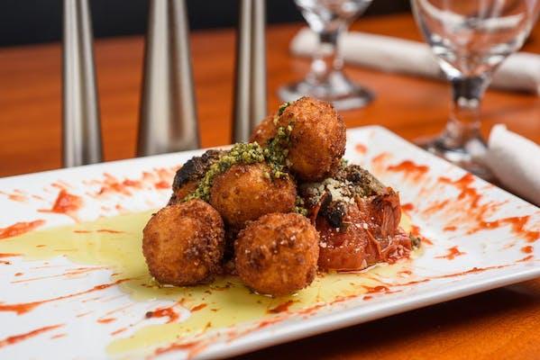 Caprese Fritti (Fried Mozzarella & Tomato Salad)