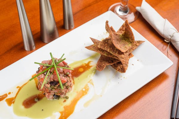 Tartare di Tonno Alla Puttanesca (Tuna Tartare Puttanesca Style)
