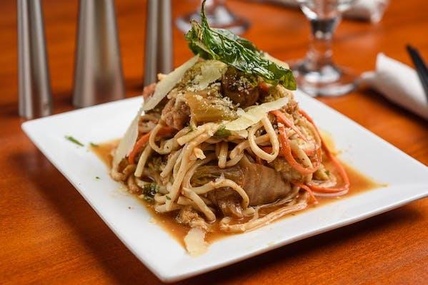 Venetian Samurai (Chilled Pasta Salad)