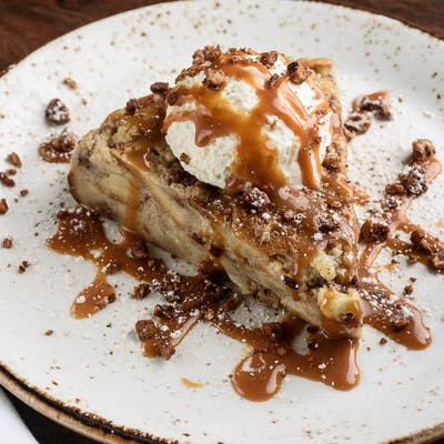 Pecan Apple Bread Pudding