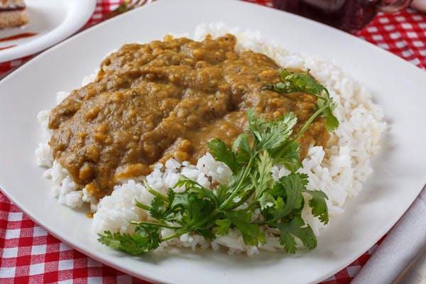 Dhal & White Rice