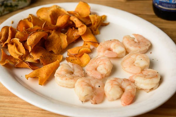 Kid's Cajun Boiled Shrimp
