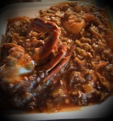 Seafood Okra Bowl