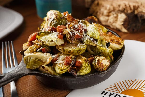 Wood-Fired Brussels Sprouts