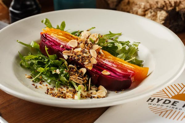 Beet & Goat Cheese Terrine Salad