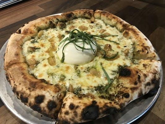 Texas Pesto Pizza