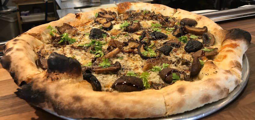 The Fungi Pizza