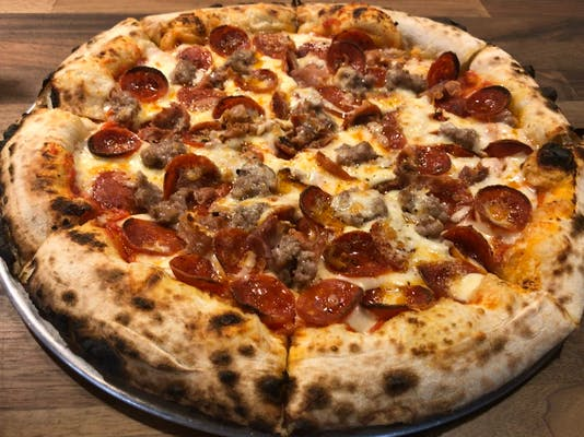 Nice-to-Meat-Y'all Pizza