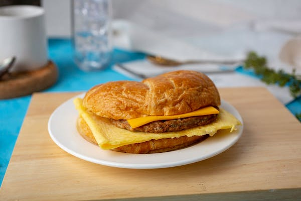 Sausage, Egg & Cheese Sandwich