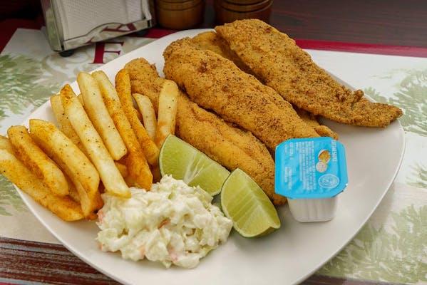 (4 pc.) Fried Catfish