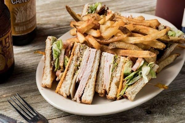 George's Club Sandwich