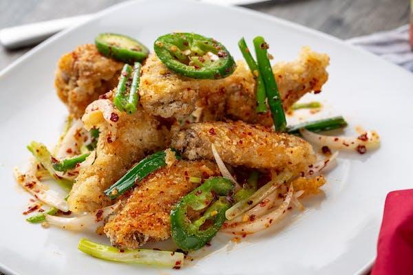 Flavored Wings Dinner