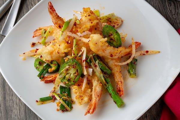 Salt & Pepper Shrimp Dinner