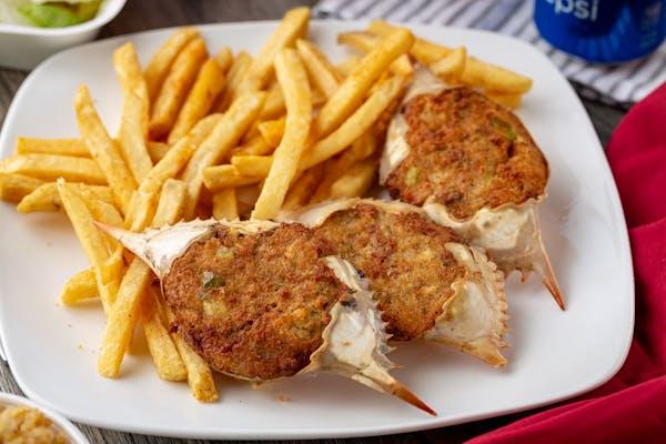 Stuffed Crab Dinner