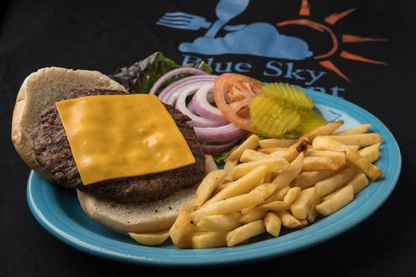B2. Cheeseburger