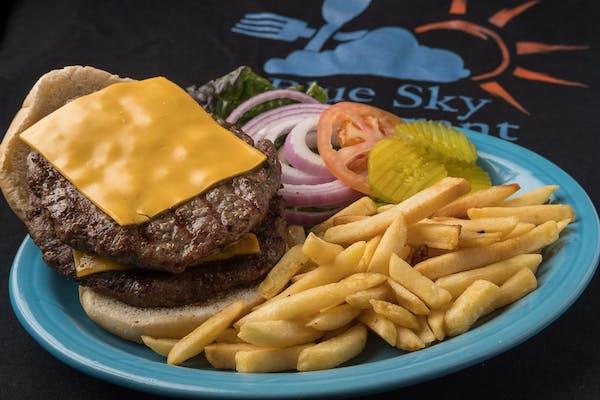 B3. Double Burger