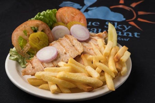 B4. Grilled Chicken Sandwich