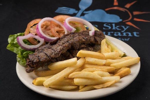 B5. Country Fried Steak Sandwich