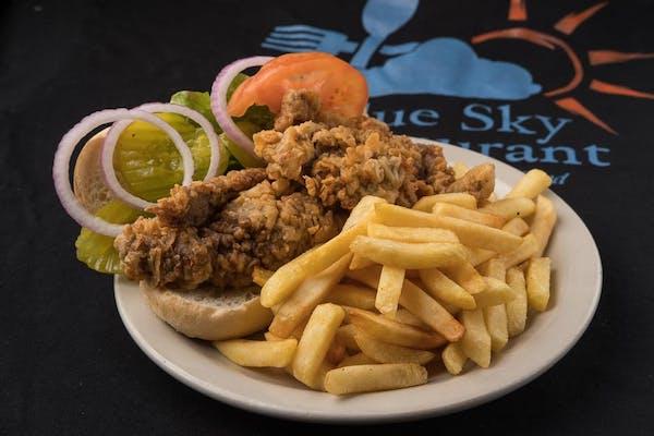 B6. Blue Sky Steak Sandwich