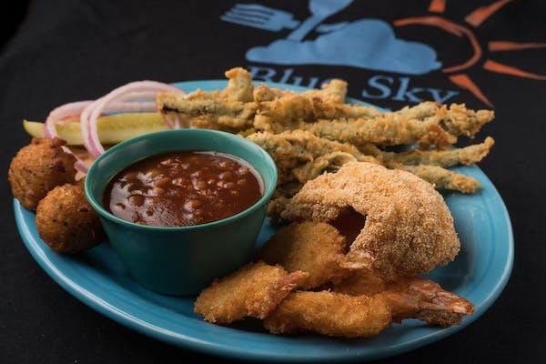 S10. Fish & (5 pc.) Shrimp