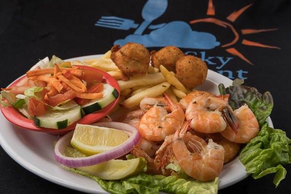 S14. Boiled Shrimp Dinner
