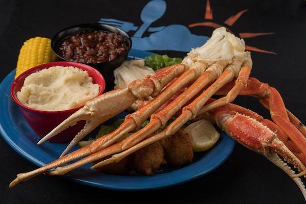 F1. Snow Crab Legs Dinner