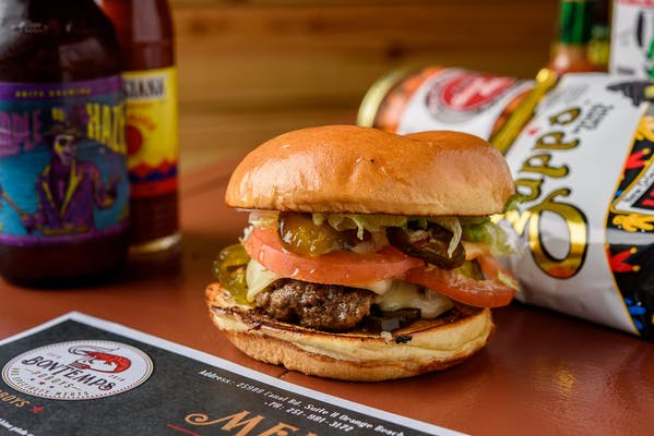 Ragin' Cajun Burger