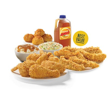 (6 pc.) Chicken & (8) Tenders Meal