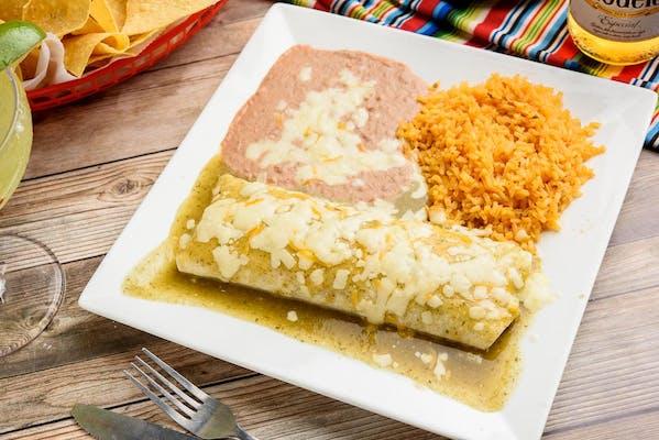 B4. Burrito Verde